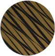 rug #267037 | round mid-brown stripes rug