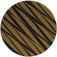 rug #267037 | round mid-brown stripes rug