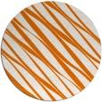 rug #267113   round orange popular rug