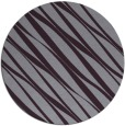 rug #267157   round purple stripes rug