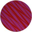 rug #267173 | round red stripes rug