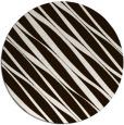 rug #267217 | round brown stripes rug