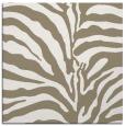 rug #267625 | square white animal rug