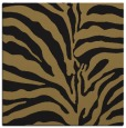 rug #267645 | square brown animal rug
