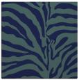 rug #267657 | square blue animal rug