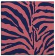 rug #267717 | square blue-violet animal rug