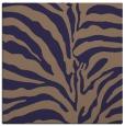 rug #267733 | square blue-violet animal rug