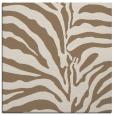 rug #267777   square mid-brown animal rug