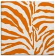 rug #267817 | square orange animal rug