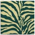rug #267829   square yellow stripes rug