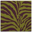 rug #267853 | square purple animal rug