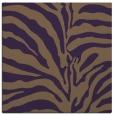 rug #267857 | square purple animal rug