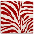 rug #267865 | square red stripes rug