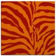 rug #267869 | square red stripes rug