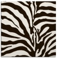 rug #267921 | square brown animal rug