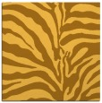 rug #267929 | square light-orange animal rug