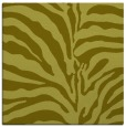 rug #267945 | square light-green animal rug
