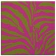 rug #267953 | square light-green animal rug