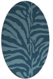 rug #268004 | oval animal rug