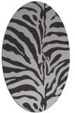rug #268022 | oval stripes rug