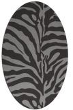 rug #268023 | oval stripes rug