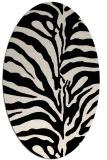 rug #268053 | oval blue-green popular rug