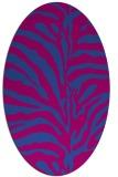 rug #268079 | oval animal rug