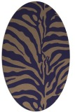 rug #268086 | oval stripes rug