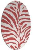 rug #268199 | oval stripes rug