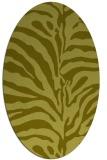 rug #268297 | oval light-green rug