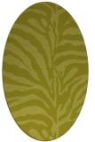 rug #268300 | oval animal rug