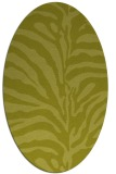 rug #268300 | oval stripes rug