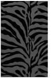 rug #268337 |  black stripes rug