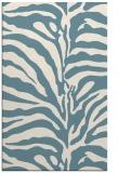 rug #268353    blue-green animal rug