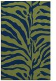 rug #268365 |  green stripes rug