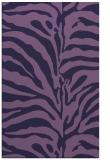 rug #268425 |  purple stripes rug