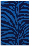 rug #268497    blue animal rug