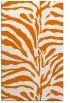 rug #268521 |  orange stripes rug
