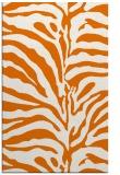 rug #268521 |  orange animal rug