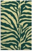 rug #268533 |  yellow stripes rug