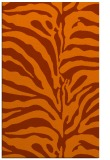 rug #268585 |  red-orange animal rug
