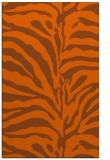rug #268593 |  red-orange animal rug
