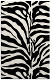rug #268601 |  black stripes rug