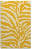 rug #268617 |  yellow stripes rug