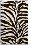 rug #268625 |  brown stripes rug