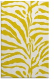rug #268629 |  yellow stripes rug