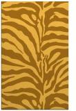 rug #268633 |  light-orange animal rug