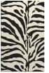 rug #268637    black stripes rug