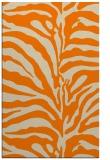 rug #268645 |  orange stripes rug