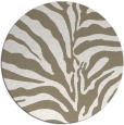 rug #268681 | round white stripes rug